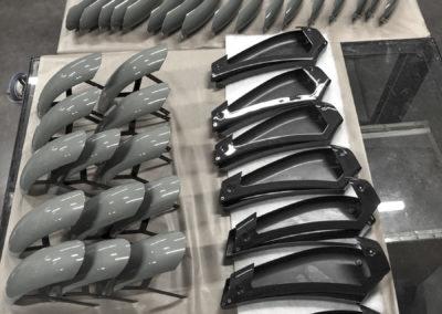 réalisation de pièces en composite et en carbone pour HeritageBike
