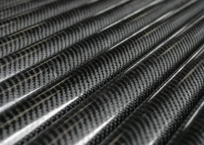 Réalisation de tubes carbone profusion composite