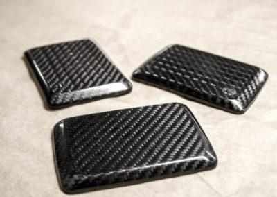 Pièces en carbone profusion composite