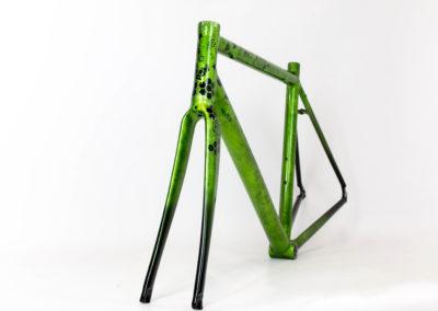 Peinture custom vélo de route Profusion